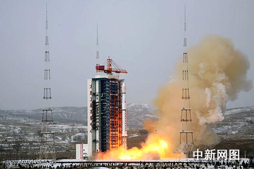Lancement CZ-4C / Yaogan 8 & XW-1 (14/12/2009) 20091210