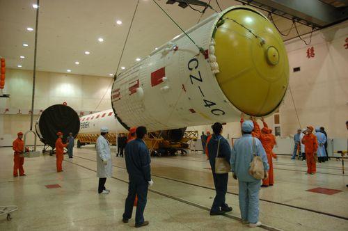 Lancement CZ-4C / Yaogan 8 & XW-1 (14/12/2009) 20091214