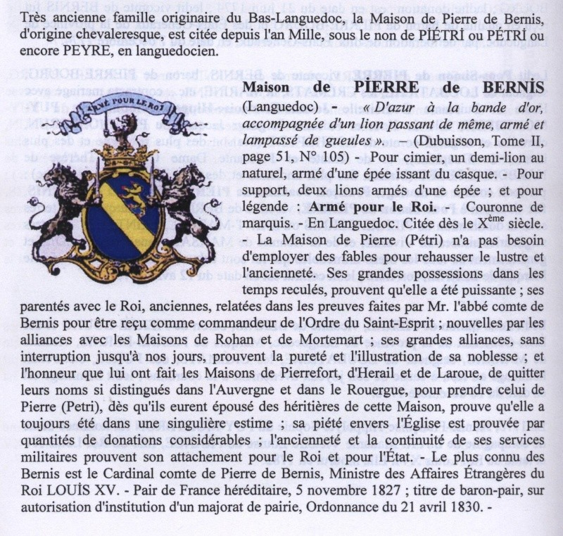 François Joachim de Pierre de Bernis, cardinal de Bernis 00427