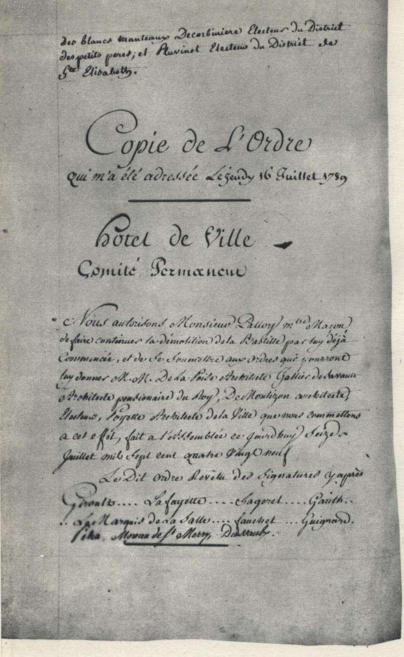 Palloy et le mythe de la Bastille - Page 4 00727