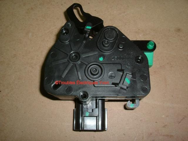 Mazda 5 2007 barure électrique, porte coulissante démonté Mazda_10