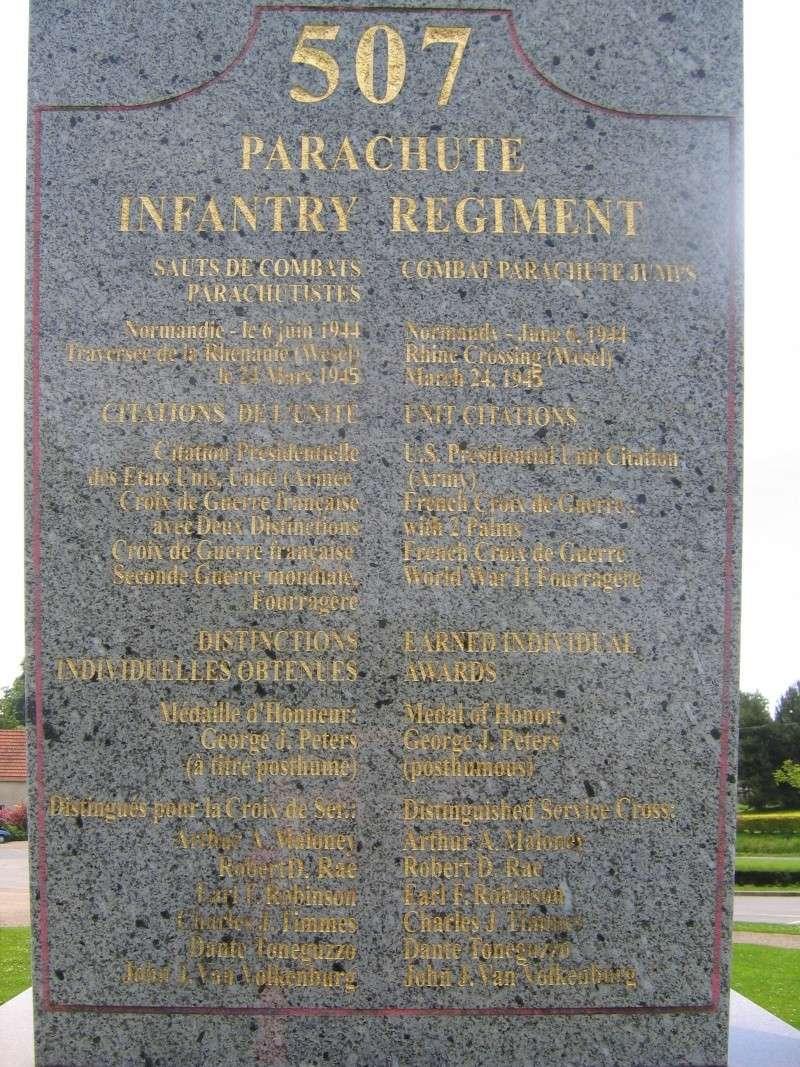 Monument WW2 - Amfreville ( France ) Img_6016