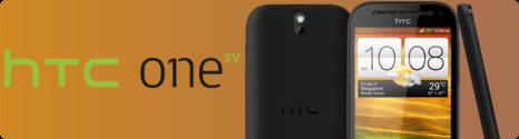 Le HTC One SV compatible 4G dispo chez Bouygues Telecom  et B&YOU 13592810