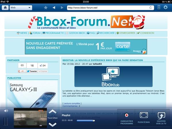BboxTab: la Nouvelle expérience Bbox qui va faire sensation Bt310