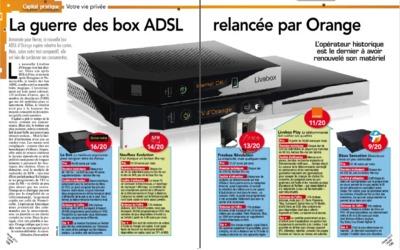 La Bbox Sensation classée dernière des box ADSL par le magazine Capital Capita10