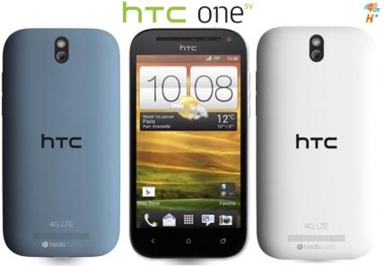 Le HTC One SV compatible 4G dispo chez Bouygues Telecom  et B&YOU Htcone10