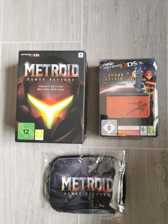 [VDS] CONSOLE 3DS XL MÉTROID + METROID COLLECTOR  Img_2123