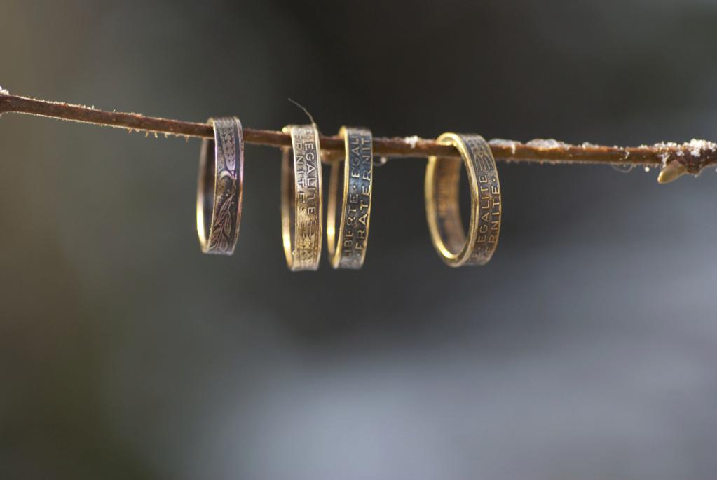 Bijoux à base de pièce de monnaie ( coin ring)  Anneau10
