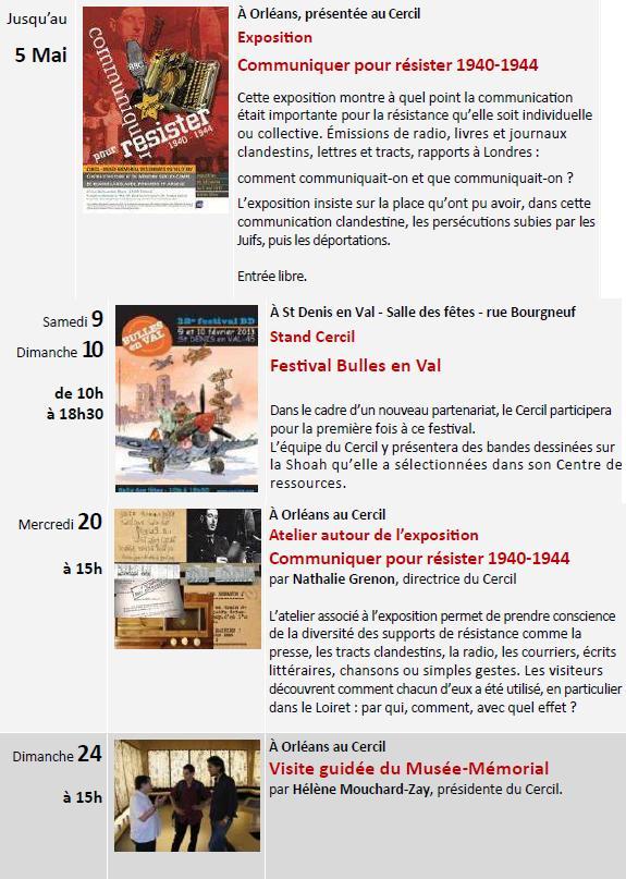 Les rencontres et expositions du CERCIL pour le mois de Février 2013 Sans_t15