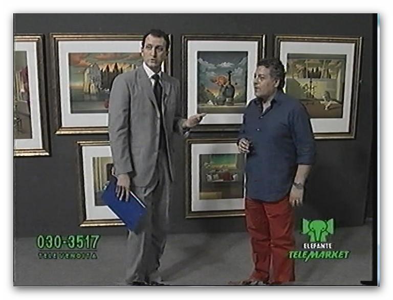 IMMAGINI AMARCORD IN TV  DELLE OPERE DEL MAESTRO Apc_2023