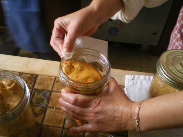 comment faire un foie gras en pot  ? reponse en images Imgp4314