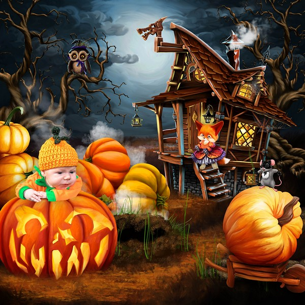 HALLOWEEN WITH THE FRIENDS OF THE FOREST - jeudi 14 octobre / thursday october 14th Kitty469