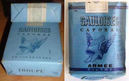 Dans la légion avait vous connu ces paquets de cigarettes  64397411