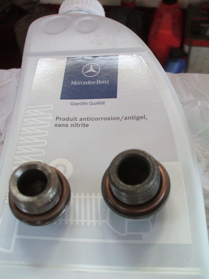 Vidange moteur et remplacement filtre a huile sur un 406 Boucho10