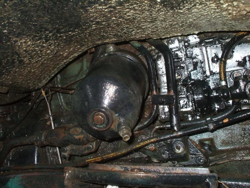Vidange moteur et remplacement filtre a huile sur un 406 Vidang12