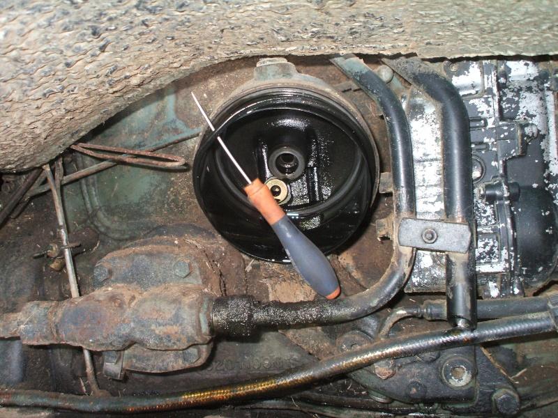 Vidange moteur et remplacement filtre a huile sur un 406 Vidang13