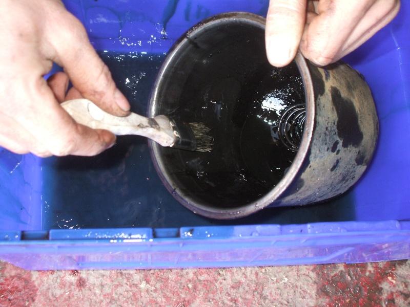 Vidange moteur et remplacement filtre a huile sur un 406 Vidang16