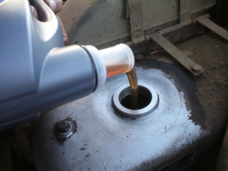 Vidange moteur et remplacement filtre a huile sur un 406 Vidang22