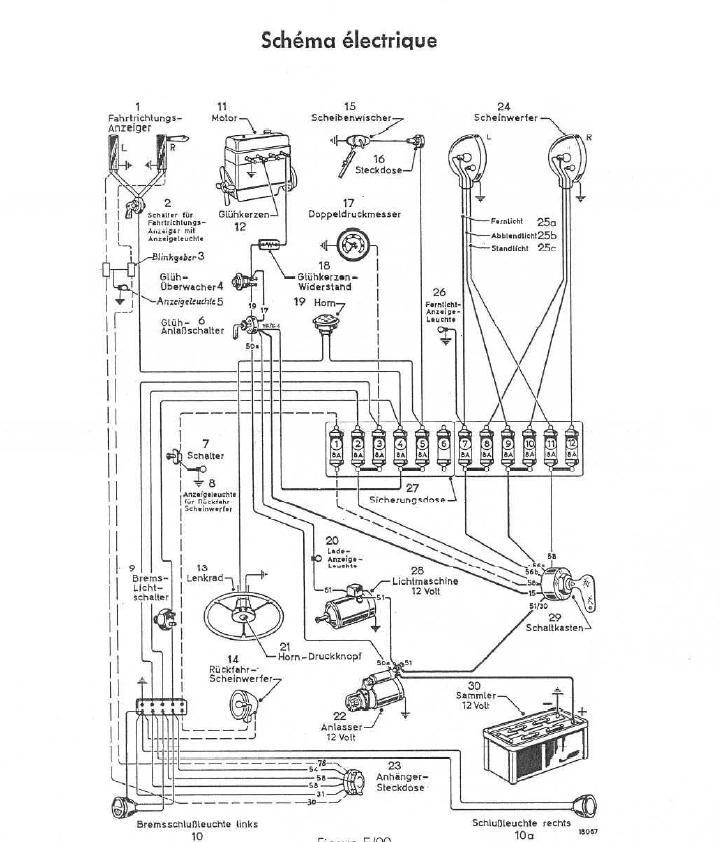 connection electrique des feux de signalisation Shamas10