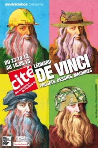 """""""LÉONARD DE VINCI, PROJETS, DESSINS, MACHINES"""" EXPOSITION TEMPORAIRE DU 23 OCTOBRE 2012 AU 18 AOÛT 2013. Phpthu10"""