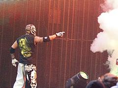 The luchador Gold veulent les ceinture par équipe Entran13