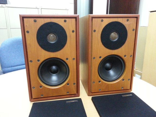 Harbeth P3-ES2 with matching Xtenders Harbet12
