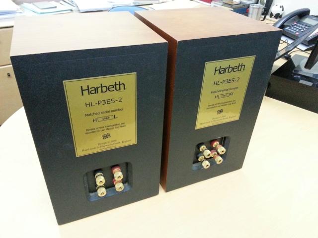 Harbeth P3-ES2 + Bass Xtenders Harbet13