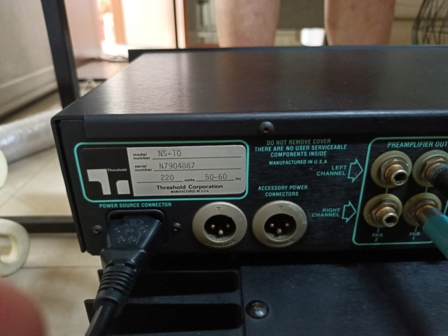Threshold NS10 Preamp & A400 (SOLD) Img20227