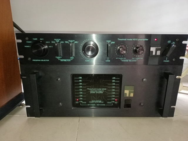 Threshold NS10 Preamp & A400 (SOLD) Img20229