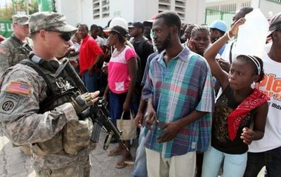 82nd Airborne troops land in Haiti 12310