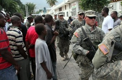 82nd Airborne troops land in Haiti Us_sol10
