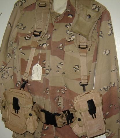 Saudi Arabian Uniform and LBE 00119