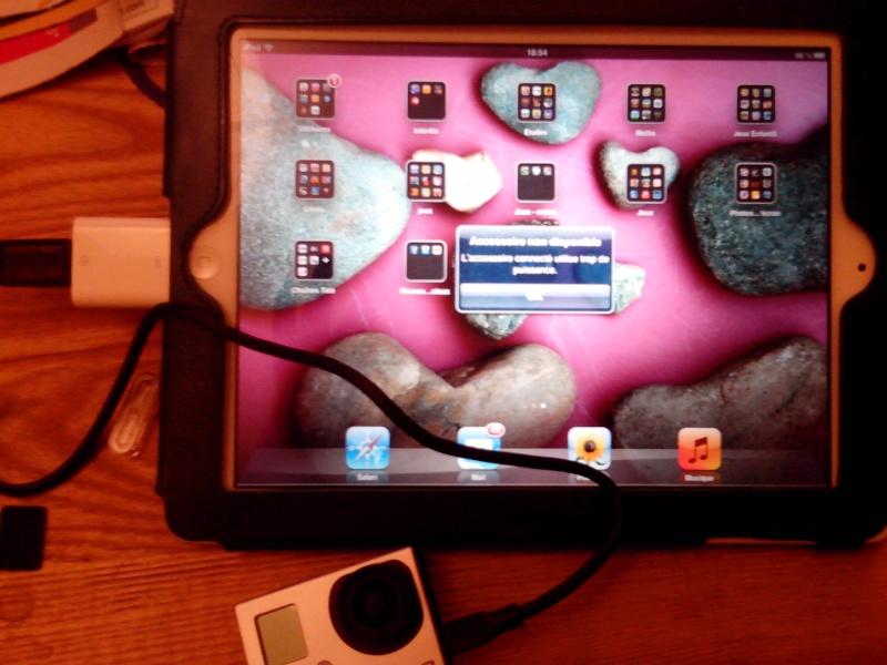 Lire les vidéos de la H3 Silver sur iPad 3 Retina Img_2010