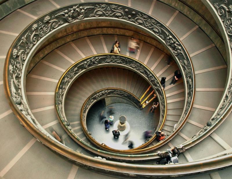 L'escalier hélicoidal du vatican Pb231610