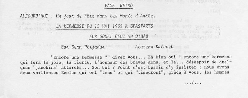 Brasparts: la kermesse de 1932 File0045