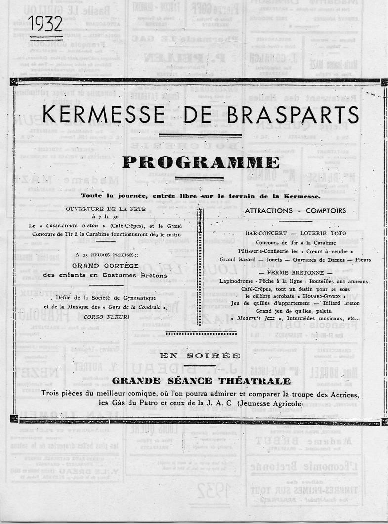 Brasparts: la kermesse de 1932 File0047