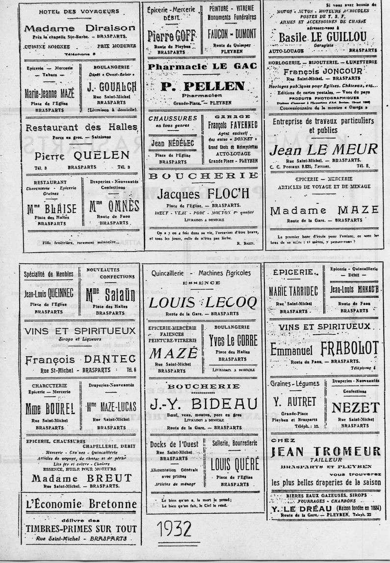 Brasparts: la kermesse de 1932 File0048