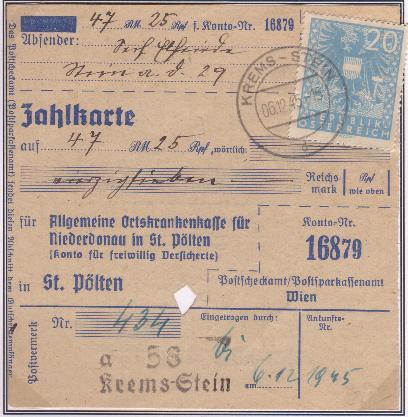 Wappenzeichnung  -  ANK 714-736 - Belege Adlerz10