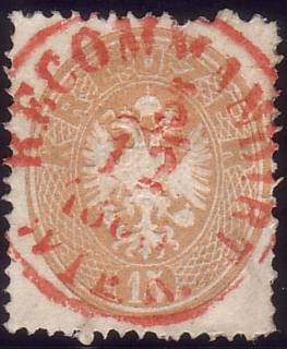 Die Freimarkenausgabe 1863 Ausg1810