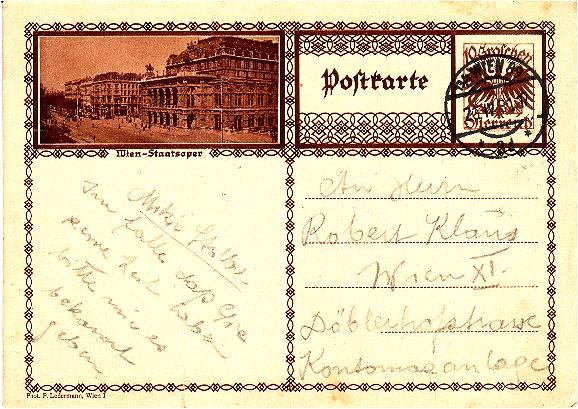 Bildpostkarten Österreich  -  Mi. P 278 Bpksta10
