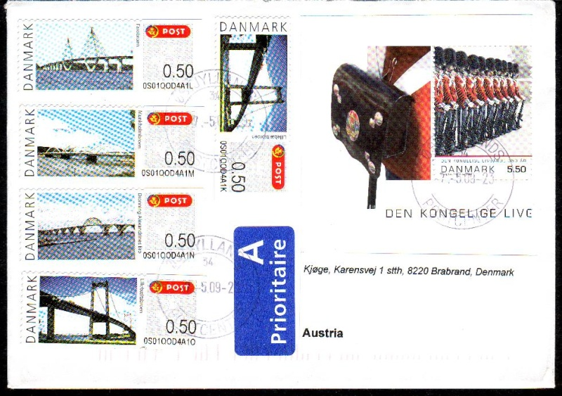 Brücken auf Briefmarken Bracke10