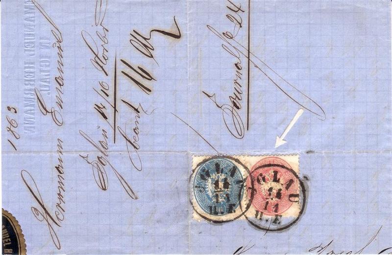 Die Freimarkenausgabe 1863 Bufaus10