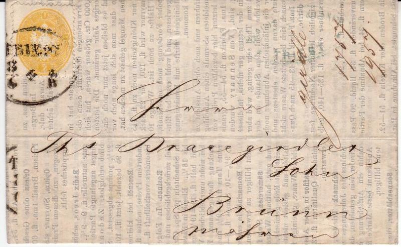 Die Freimarkenausgabe 1863 Efausg11