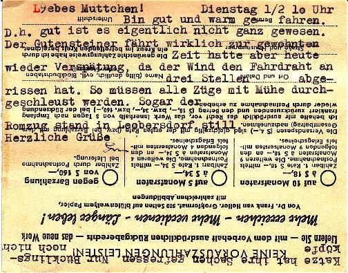Trachtenserien ANK 887 - 923 und 1052 - 1072 Belege - Seite 2 Kottek13