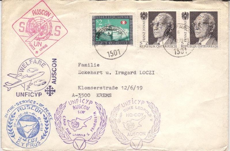 Österreichische Post in Zypern Unficy10
