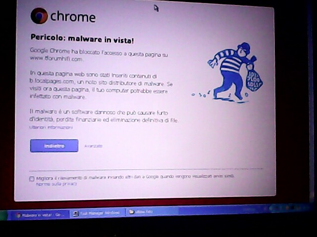 chrome mi dice: malware sul forum Img_2010