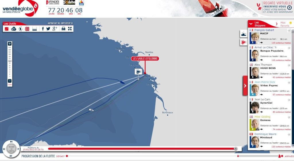 vendee globe 2012 - Page 4 Arrive12
