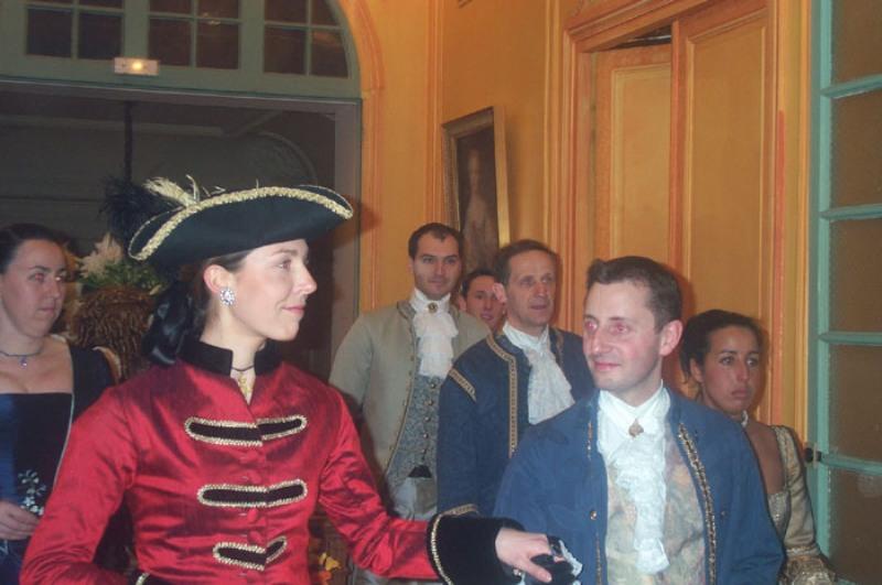 le bal de Versailles  2002, hotel de France 52escr12