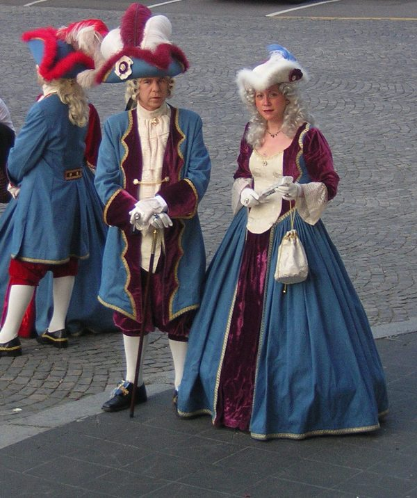 le bal de Versailles 2004, Hotel de ville Arrive11