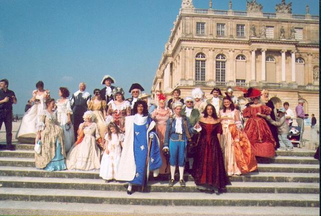 Nos balades en costume au Chateau de Versailles, 2003, 2004, 2005 Bal20010